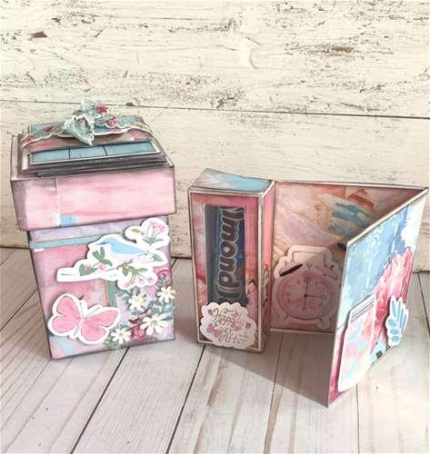 _Accordion Mini Album Exploding Box