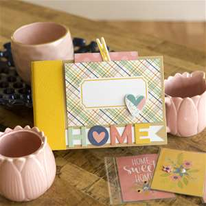 4 x 6'' Home Coffee Table Book