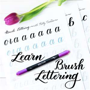 Brush Lettering Basics with Kelly Creates