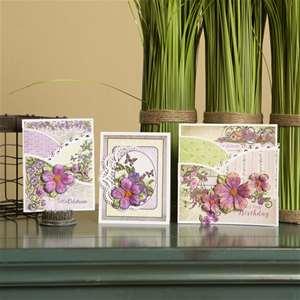 Classic Petunia Foldout Card Class