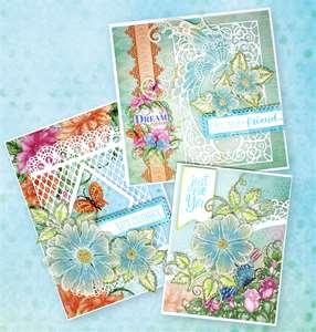 Elegant Vellum Floral Cards